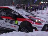 米其林出品 WRC瑞典站第三日精彩镜头