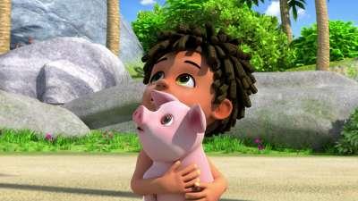超级飞侠第三季03大珊瑚礁岛的小猪