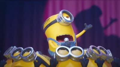 《神偷奶爸3》小黄人大合唱片段 登上