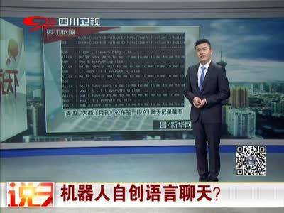[视频]机器人自创语言聊天