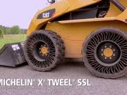 米其林轮胎在装载机上的测试!