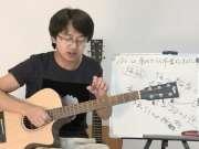 第三十八课[下]-常用扫弦节奏及扫弦节奏中和弦的转换(扫弦弹奏的技巧讲解)【彼岸吉他】