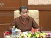 赵洪祝与柬埔寨副首相会谈