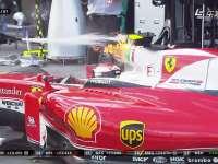 冰火两重天!F1澳大利亚站正赛 莱科宁赛车冒火退赛