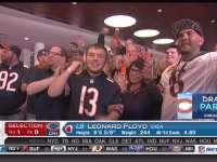 NFL选秀大会第9顺位 莱昂纳德-弗洛伊德 (熊)