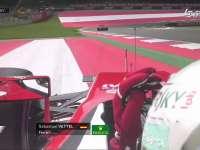 F1奥地利站FP1:维特尔TR抱怨飞驰圈被队友阻挡