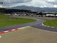 F1奥地利站FP2:直升机来跑赛道