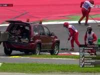 F1奥地利站排位赛:后备箱里装赛车