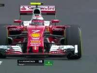 F1匈牙利站FP2 Kimi酷炫漂移过弯