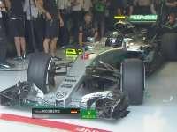 科目二不及格 F1匈牙利站FP3 罗斯伯格打错方向