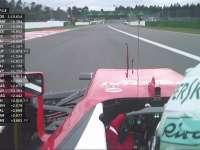 浪费时间!F1德国站FP2:维特尔抱怨交通状况