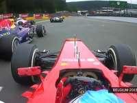 F1比利时站经典:2013年阿隆索起步连超三人