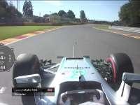 F1比利时站FP1全场回顾(车载)