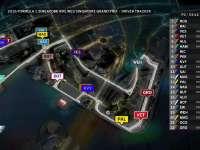 F1新加坡站FP2(GPS跟踪)全场回放