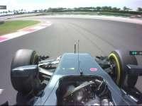哎呦我去!F1马来西亚站FP2:巴顿爆粗抱怨被挡