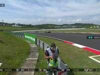 F1马来西亚站正赛:车队提醒维斯塔潘可以追Kimi了