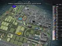 F1墨西哥站排位赛全场回放(GPS追踪)