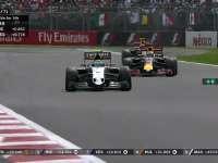 F1墨西哥站正赛:车队通知佩雷兹玩命推进