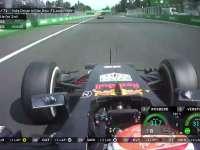 F1墨西哥站正赛:里卡多左后轮衰竭严重