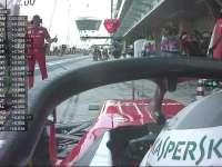 F1阿布扎比站FP1 维特尔说有个小红牛掉零件