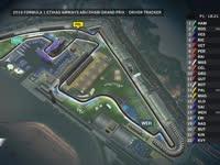 F1阿布扎比站FP1全场回放(GPS追踪)