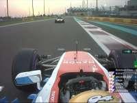 F1阿布扎比站排位赛Q1 维尔莱茵TR好高兴!