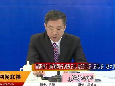 2016年度湖南国家调查数据新闻发布会召开