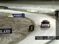WRC瑞典站SS1:帕登PK埃文斯