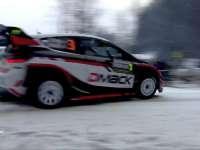 WRC瑞典站SS14集锦 奥斯特伯格跳坡44米