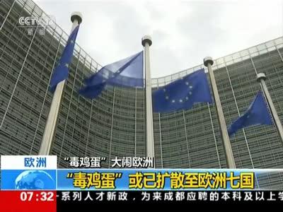 """[视频]""""毒鸡蛋""""大闹欧洲 """"毒鸡蛋""""或已扩散至欧洲七国"""