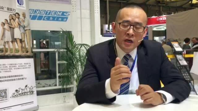 CeMAT2017:采访西斯特姆(中国)科技有限公司Modula 中国区销售总监王伟先生