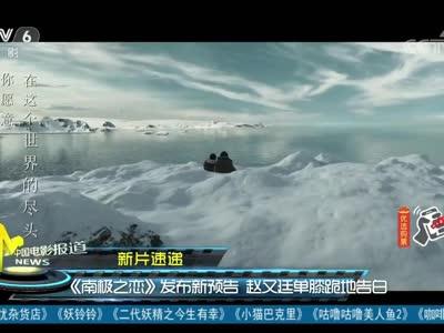 [视频]电影《南极之恋》发布新预告 赵又廷单膝跪地告白