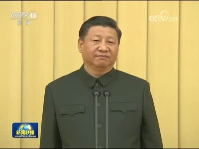 [视频]中央军委向武警部队授旗仪式在北京举行 习近平向武警部队授旗并致训词