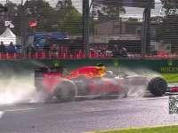 F1澳大利亚站FP2 红牛赛车制造唯美水雾大片