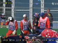 F1俄罗斯站正赛 维斯塔潘爆缸无奈退赛