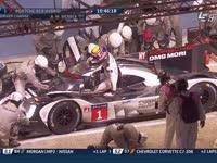 勒芒24小时耐力赛:保时捷1号说前面的丰田漏油?