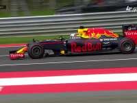 F1奥地利站FP1:埃里克森压白线险撞上里卡多