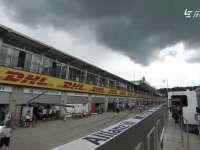 F1奥地利站FP2 赛道上空乌云密布