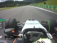 F1奥地利站FP2 全场回顾(车载)