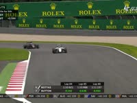 F1奥地利站正赛 罗斯伯格侧箱翼刀断裂