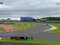 F1英国站FP1 奥康代表雷诺出战