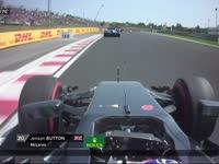 心疼!F1匈牙利站正赛:巴顿报告踏板问题