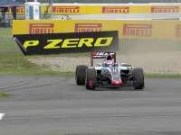 F1德国站FP1 格罗斯让冲出赛道