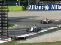 F1意大利站FP2 巴顿TR继续报告轮胎抓地力没有啦