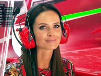 F1意大利站FP3:哈基宁帅气依旧 芬兰媳妇明图美翻