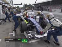 F1意大利站正赛:纳斯尔收工法拉利要求莱科宁冷却引擎
