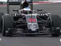 F1墨西哥站FP1:阿隆索前轮双双抱死
