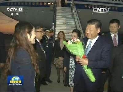[视频]习近平抵达利马出席亚太经合组织第二十四次领导人非正式会议并对秘鲁共和国进行国事访问