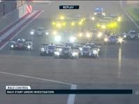 WEC巴林六小时耐力赛起跑回放:多车接受调查
