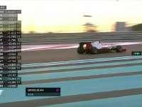 F1阿布扎比站排位赛Q1 科维亚特赛车还在抖